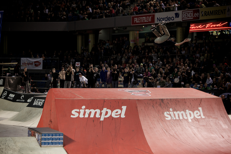 Ryan Sheckler USA backflip